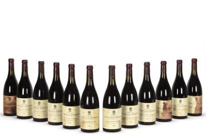 12 bouteilles CLOS DES LAMBRAYS (Grand Cru)...
