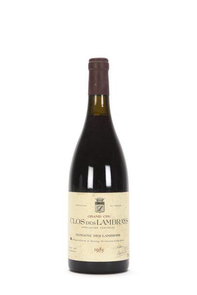 1 bouteille CLOS DES LAMBRAYS (Grand Cru)...