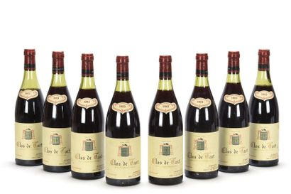 2 bouteilles CLOS DE TART (Grand Cru) (Caisse...