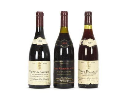 1 bouteille VOSNE-ROMANÉE LES PETITS MONTS...