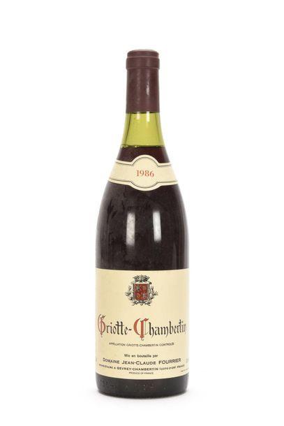 1 bouteille GRIOTTE-CHAMBERTIN (Grand Cru)...