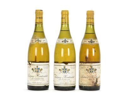 1 bouteille PULIGNY-MONTRACHET LES COMBETTES...