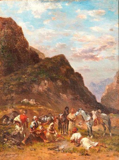 Georges WASHINGTON (1827-1910)  La halte....