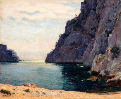 Jean-Baptiste OLIVE (1848-1936)  Calanque....