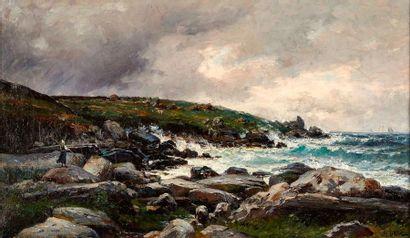 Jean-Baptiste OLIVE (1848-1936)  Bord de...