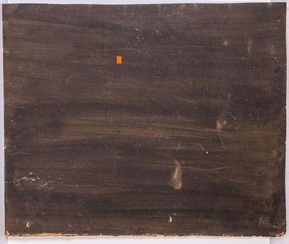 Jacques MAJORELLE (1886-1962) Jeunes femmes portant des dattes. Huile, gouache et...
