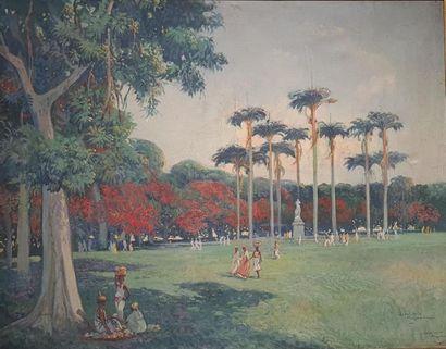 Jean-Louis PAGUENAUD (1876-1952)  Martinique...