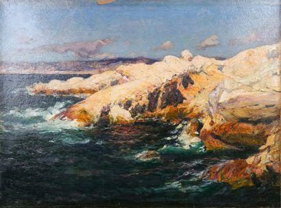 Jean-Baptiste OLIVE (1848-1936)  La Corniche...