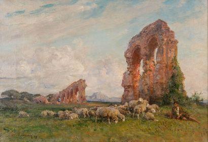 Henri Émilien ROUSSEAU (1875-1933)  Le berger...