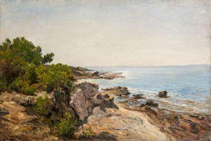 Raphaël Luc PONSON (1835-1904)  La matinée...