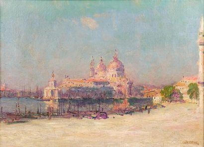 Jean-Baptiste OLIVE (1848-1936)  La basilique...