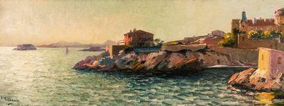 Louis NATTERO (1870-1915)  Anse de Maldormé...