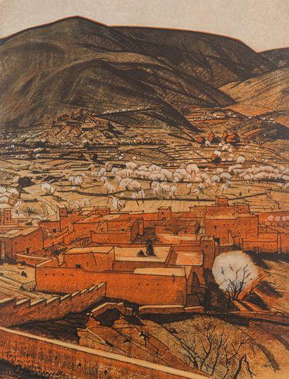 Jacques MAJORELLE (1886-1962)  Les Kasbahs...