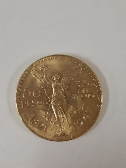 MEXIQUE  50 Pesos. 1947. Superbe