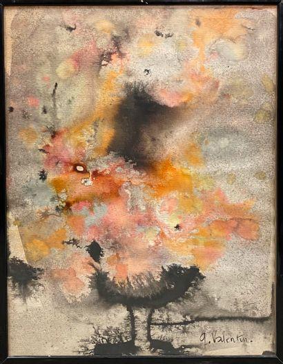 Gilbert VALENTIN (1928-2001)  Composition...