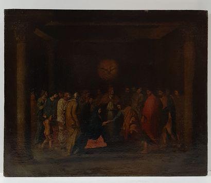 Ecole Française du XVIIème siècle  Le mariage...