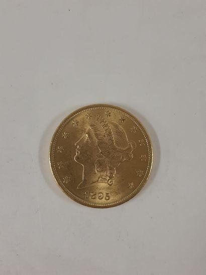 ETAT-UNIS  20 Dollar type Liberté. 1895....