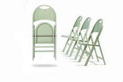 Achille CASTIGLIONI  (1918-2002)  4 chaises...