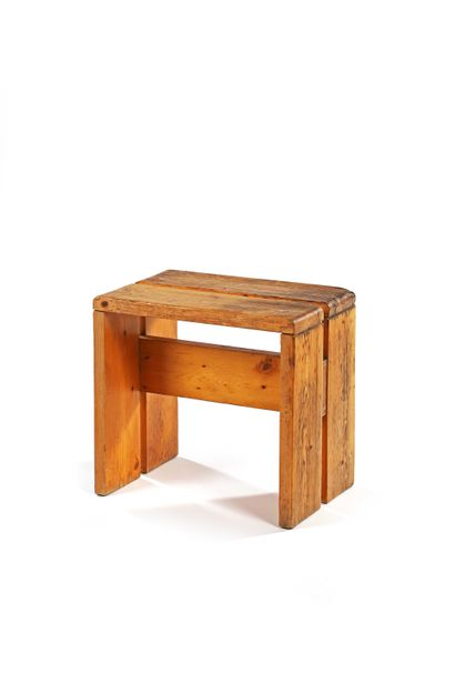 Charlotte PERRIAND  (1903-1999)  Tabouret...