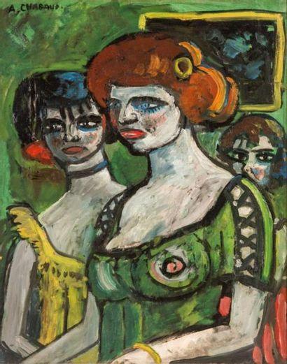Auguste CHABAUD (1882-1955)  Les filles en...