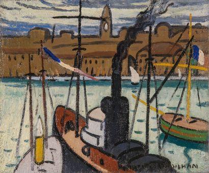 Louis Mathieu VERDILHAN (1875-1928) Marseille,...