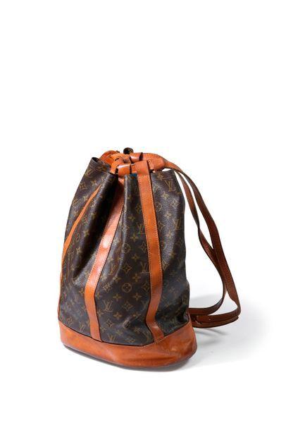 Louis Vuitton sac Petit randonnée en toile...
