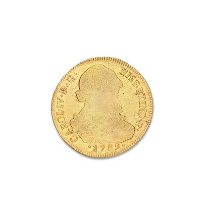 CHILI, Charles IV (1788.1808) 8 escudos or....