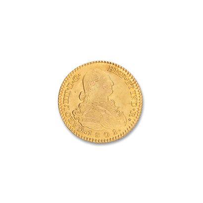 ESPAGNE, Charles IV (1788.1808) 2 escudos...
