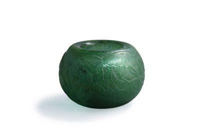 Paul Nicolas (1875-1952) Vase de forme boule...