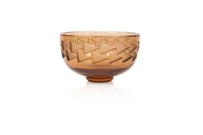 Jean Luce (1895-1964) Coupe ronde en verre...