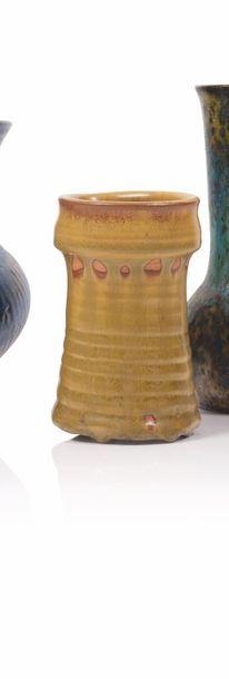 Paul Jeanneney (1861-1920) Vase en grès de...