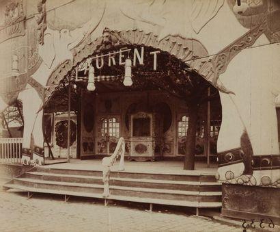 ATGET Jean Eugène Auguste (1857-1927). Ensemble de dix photographies sur le thème...