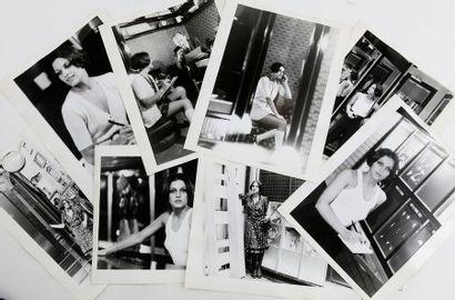 BOTTI Giancarlo (né en 1931). Portraits d'une...