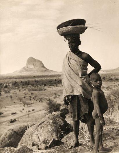 HUET michel (1917-1996). Afrique, «femme...