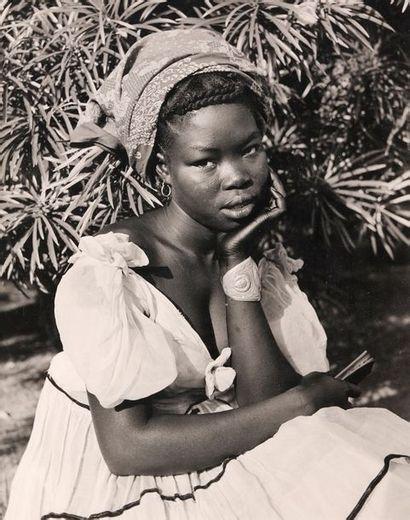 HUET michel (1917-1996). attribué Afrique,...