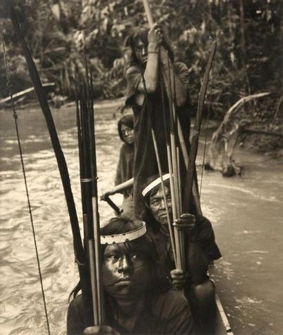 ANONYME. Amazonie. Légendée en bas à droite...