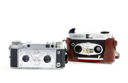 Ensemble de deux appareils stéréoscopiques...