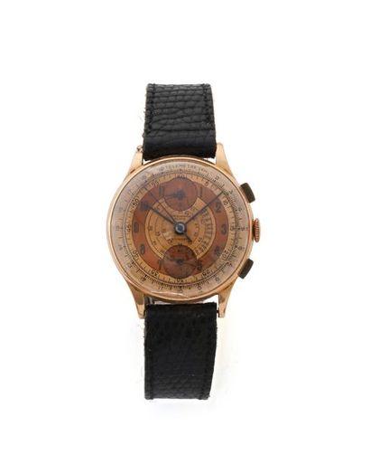 CHRONOGRAPHE SUISSE Montre chronographe en...