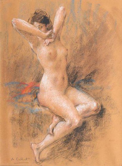 Antoine CALBET (1860-1944)  Jeune femme...