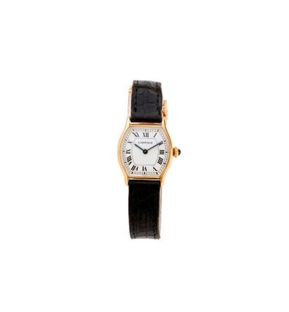 CARTIER (Lady Tortue / Or jaune N° ), vers...