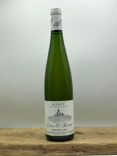 1 bouteille Riesling «Clos Ste Hune» Trimbach...