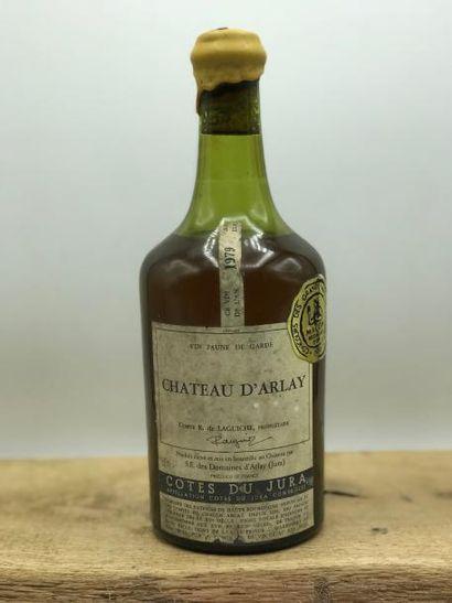 1 bouteille Vin Jaune Château d'Arlay 1979...
