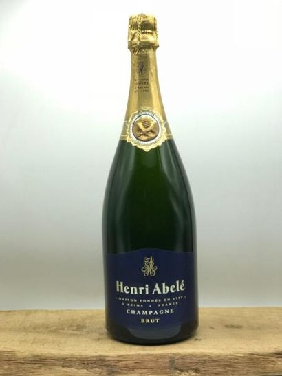 1 magnum Champagne Henri Abelé