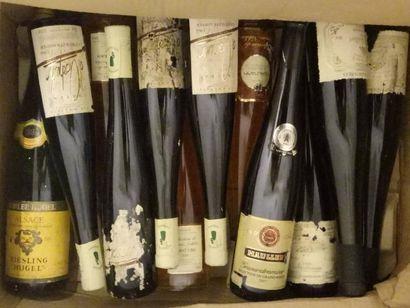 4 1/2 bouteilles ALSACE Gewurztramine Château...