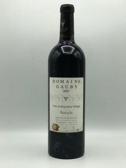 1 bouteille Côtes du Roussillon Villages...