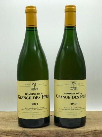 1 bouteille Grange des Pères (blanc) 2004...
