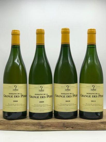 1 bouteille Grange des Pères (blanc) 2008...