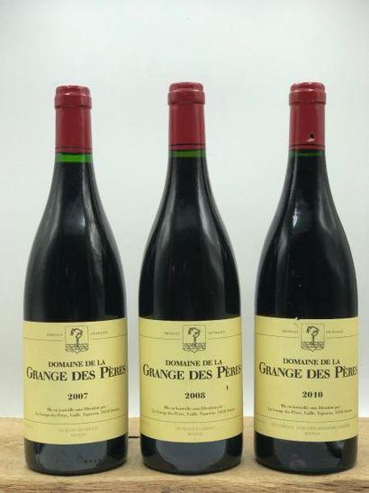 1 bouteille Grange des Pères (rouge) 2007...