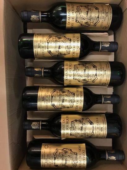 12 bouteilles Côtes de Bergerac Domaine du...