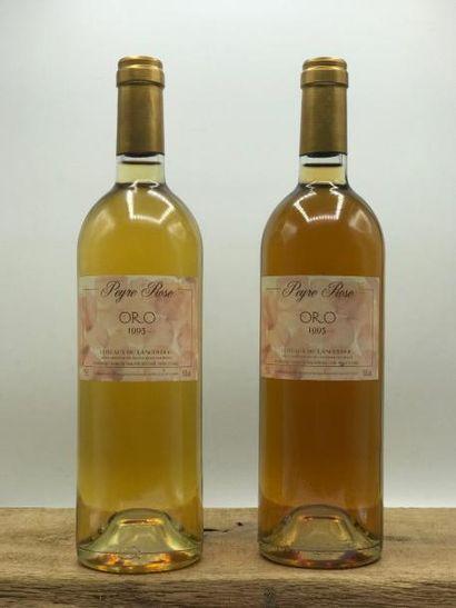 2 bouteilles Coteaux du Languedoc Peyre Rose...